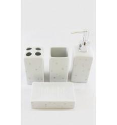 Dosificador jabón negro brillo Laroom