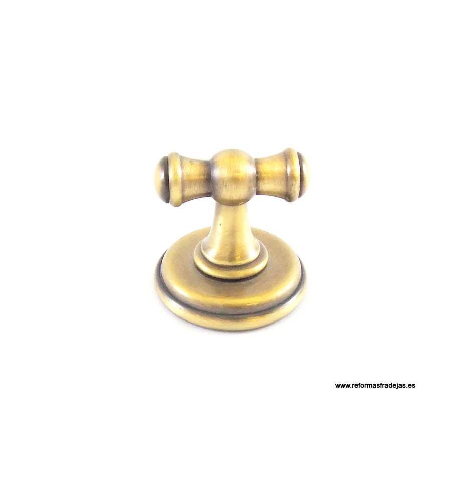 Toallero barra en lat n envejecido bronce for Toallero bronce