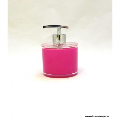Dosificador rosa fucsia
