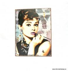 Ideal Cuadro de cine Audrey Hepburn