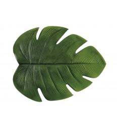 Ideal Mantel Individual Hoja Verde