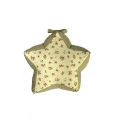 Sujeta puerta forma Estrella beig