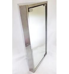 Armario esquinero Inox con Espejo
