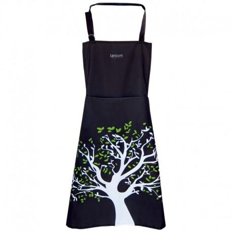 Delantal de cocina Negro con árbol