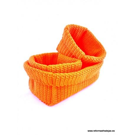 Juego de 3 Cestos naranja