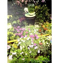 Cuadro jardín primaveral