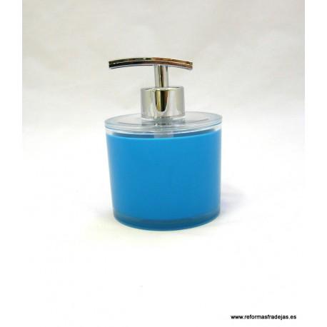Dosificador acrílico azul