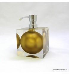 Elegante dosificador oro