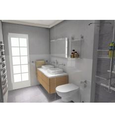Proyecto online decoración de un baño